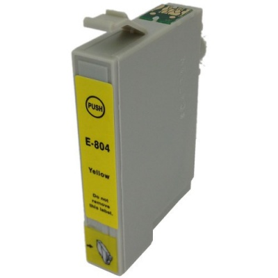 Epson T0804 žlutá (yellow) kompatibilní cartridge