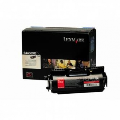 Lexmark 64436XE černý (black) originální toner
