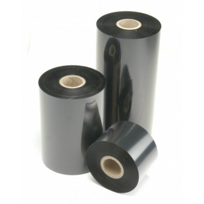 """TTR páska, vosková (wax), 110mm x 450m, 1"""", OUT, černá"""