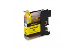 Brother LC-125XL/LC-127XL žlutá (yellow) kompatibilní cartridge