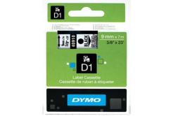 Dymo D1 40910, S0720670, 9mm x 7m, černý tisk / průhledný podklad, originální páska