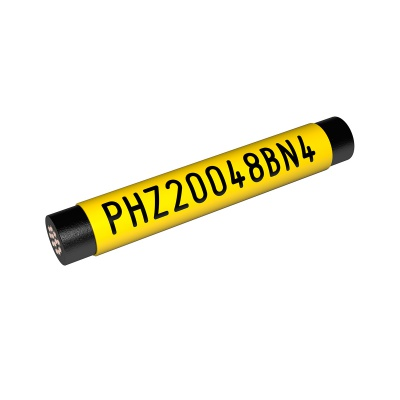 Partex PHZF20032DN9, bílá, 25m, plochá, PHZ smršťovací bužírka certifikovaná