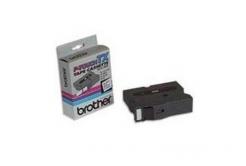Brother TX-751, 24mm x 15m, czarny druk / zielony podkład