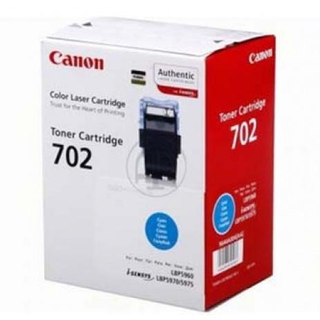 Canon CRG-702 cián (cyan) eredeti toner