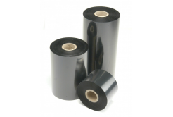 """TTR taśma, voskovo-pryskyřičná (wax-resin) 59mm x 74m, 1 / 2"""", IN czarny"""