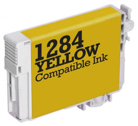 Epson T1284 žltá (yellow) kompatibilná cartridge