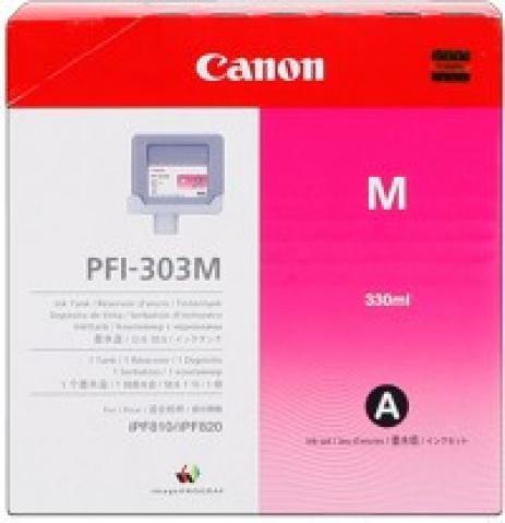 Canon PFI-303M purpuriu (magenta) cartus original