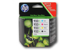 HP 932XL+933XL C2P42AE Bk+C+M+Y multipack kompatibilní cartridge
