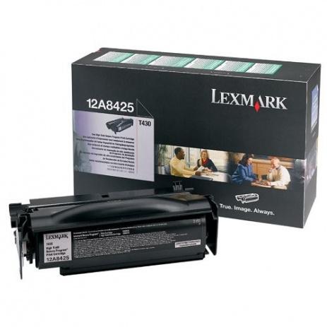 Lexmark 12A8425 fekete (black) eredeti toner