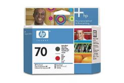 HP č.70 C9409A čierna/purpurová (black/magenta) originálna tlačová hlava