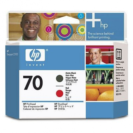 HP 70 C9409A negru/purpuriu (black/magenta) cap de imprimare original
