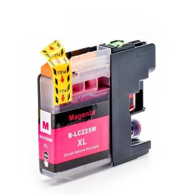 Brother LC-225XL purpurová (magenta) kompatibilní cartridge