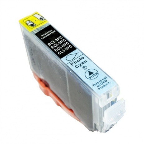 Canon BCI-6PC photo cyan compatible cartridge