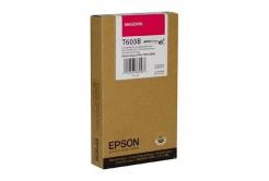 Epson T603B00 purpurová (magenta) originální cartridge