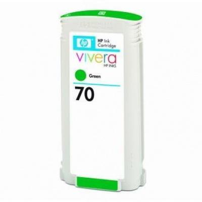 HP 70 C9457A zielona (green) tusz oryginalna