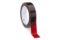 3M 616 Scotch Litografická páska, červená, 12 mm x 66 m