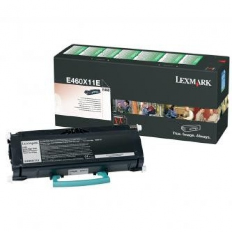 Lexmark E460X11E czarny (black) toner oryginalny