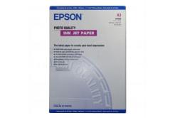 Epson C13S041068 Photo Quality InkJet Paper, foto papír, matný, bílý, A3, 105 g/m2, 720dpi, 100 ks, C13S04