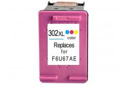 HP 302XL F6U67AE barevná (color) kompatibilní cartridge