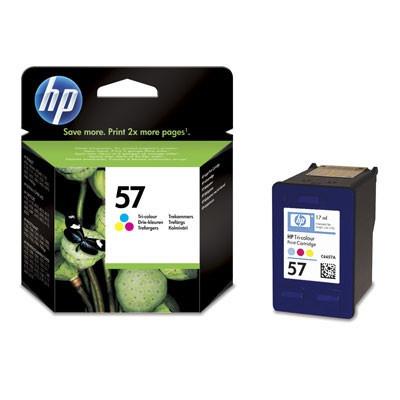 HP 57 C6657AE barevná originální cartridge, prošlá expirace