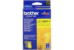 Brother LC-1100HYY žlutá (yellow) originální cartridge