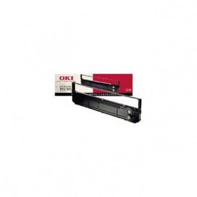 OKI originální páska do tiskárny, 9004069, černá, 12ksks, OKI do řádkových tiskáren řady