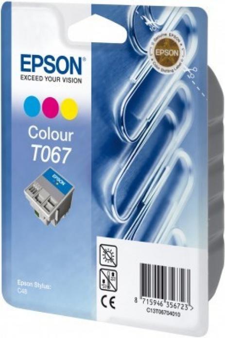 Epson T067040 kolorowa tusz oryginalna