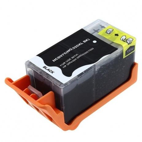 HP no.920XL CD975A black compatible cartridge