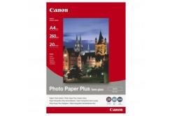 Canon 1686B021 Photo Paper Plus Semi-Glossy, foto papír, pololesklý, saténový, bílý, A4, 260 g/m2, 20