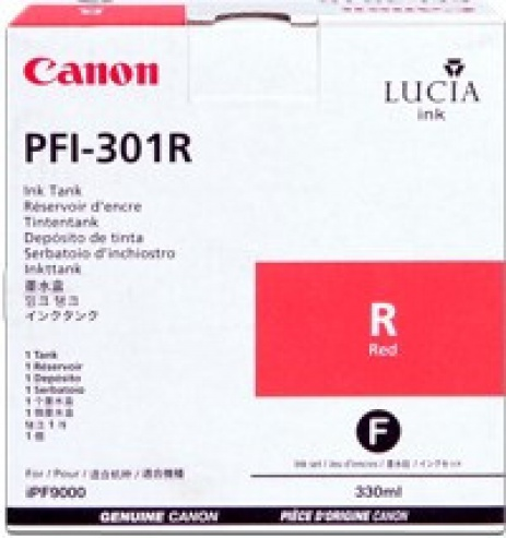 Canon PFI-301R rosu (red) cartus original