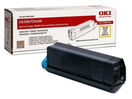 OKI 42804505 yellow original toner