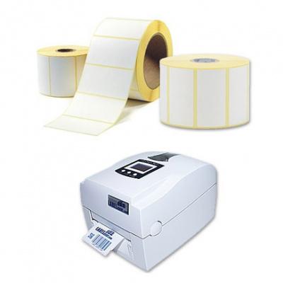 Samolepiace etikety 100x20 mm, 2000 ks, termo, role