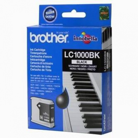 Brother LC-1000BK black (negru) cartus original
