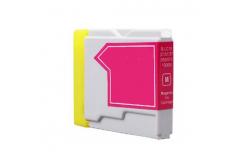Brother LC-970 / LC-1000M purpurová (magenta) kompatibilní cartridge