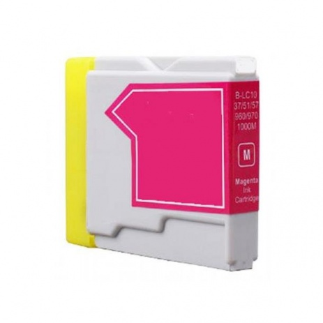 Brother LC-970 / LC-1000M magenta compatible cartridge