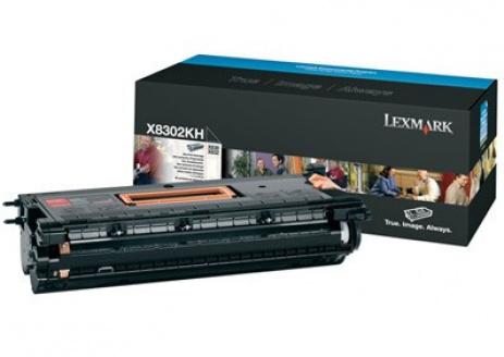 Lexmark X8302KH fekete (black) eredeti toner