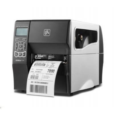 Zebra ZT230 ZT23042-T2E000FZ drukarka etykiet, 8 dots/mm (203 dpi), cutter, display, EPL, ZPL, ZPLII, USB, RS232