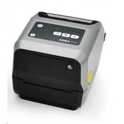 "Zebra ZD620 ZD62042-T1EF00EZ TT drukarka etykiet, 4"" 203 dpi, USB, USB Host, BTLE, RS232,LAN, peeler"