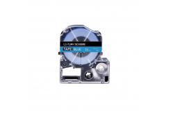 Epson LC-SD36BW, 36mm x 8m, bílý tisk / modrý podklad, kompatibilní páska