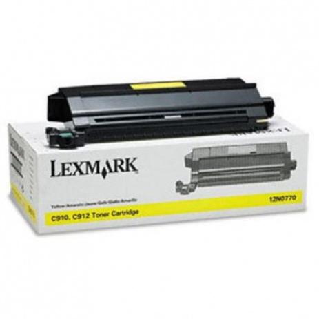Lexmark 10E0042 żółty (yellow) toner oryginalny