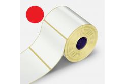 Samolepicí etikety 32x20 mm, 2000ks, červené termo, role