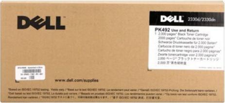 Dell PK492 (593-10337) fekete (black) eredeti toner