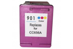 HP 901XL CC656A barevná kompatibilní cartridge