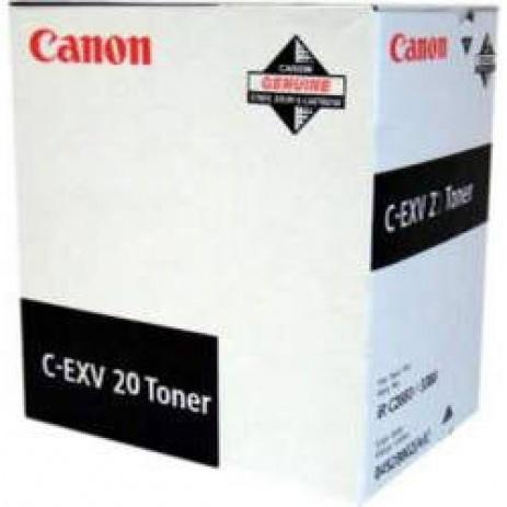 Canon C-EXV20 fekete (black) eredeti toner