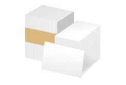 Zebra 104523-111 plastové karty pro ZXP/ZC, PVC 0,76 (30mil), 500ks, bílá barva