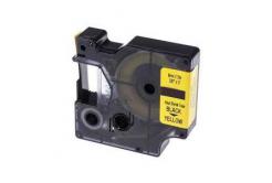 Kompatibilní páska s Dymo 18054, S0718290, 9mm x 1, 5m černý tisk / žlutý podklad