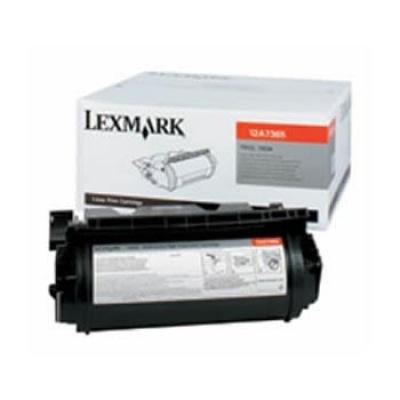 Lexmark 12A7365 černý (black) originální toner