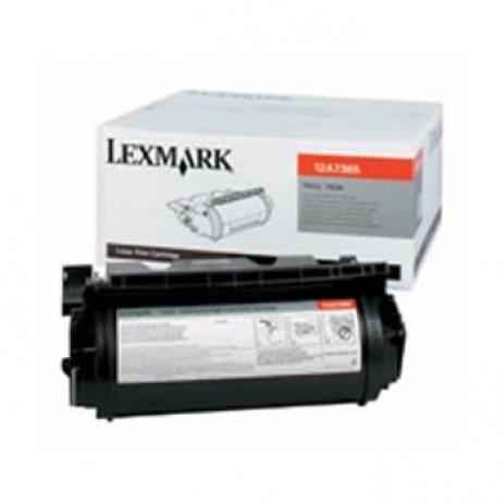 Lexmark 12A7365 black original toner