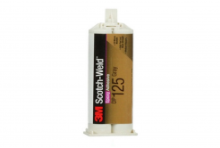 3M DP125 Scotch-Weld, šedé, 48,5 ml