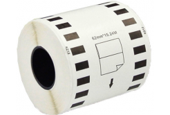 Brother DK-22212, 62mm x 15,24m, bílá, kompatibilní filmová role